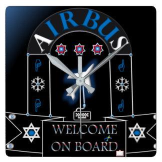 AIRBUS CLOCK