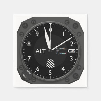 Aircraft Altimeter Disposable Napkins