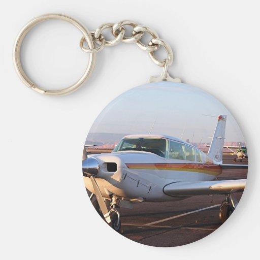 Aircraft at Page, Arizona, USA 11 Key Chain