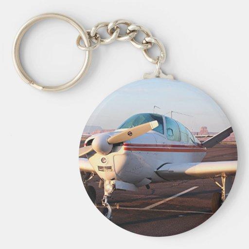 Aircraft at Page, Arizona, USA 12 Key Chains