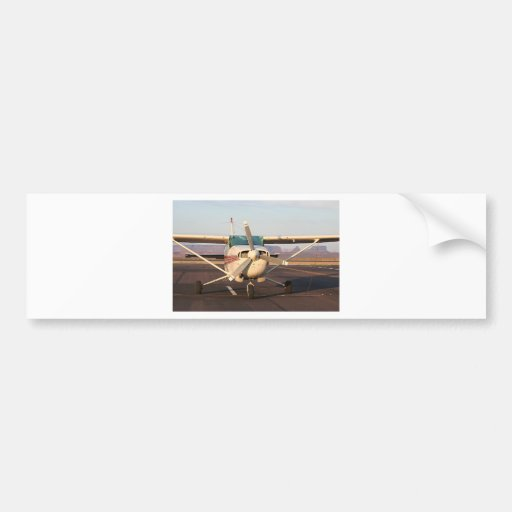 Aircraft at Page, Arizona, USA 2 Bumper Stickers