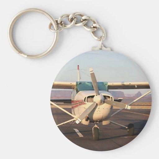 Aircraft at Page, Arizona, USA 2 Key Chain