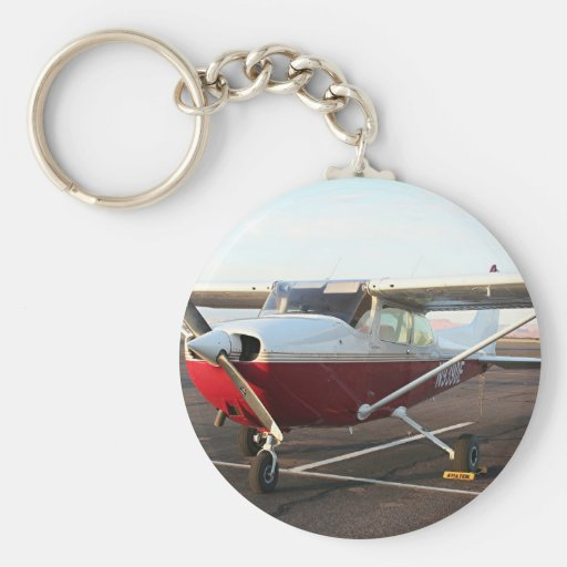 Aircraft at Page, Arizona, USA 4 Keychains