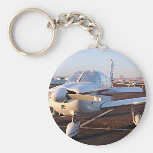 Aircraft at Page, Arizona, USA 8 Key Chains
