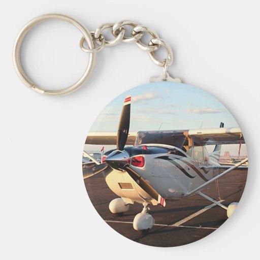 Aircraft at Page, Arizona, USA 9 Keychains