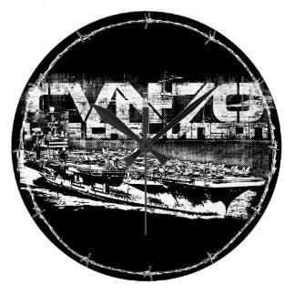 Aircraft carrier Carl Vinson Acrylic Wall Clock