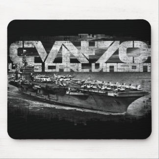 Aircraft carrier Carl Vinson Mousepad