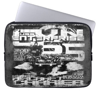 Aircraft carrier Enterprise Electronics Bag