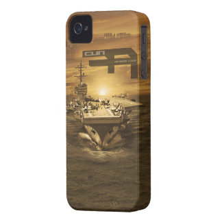 Aircraft carrier George H.W. Bush iPhone 4 Cases