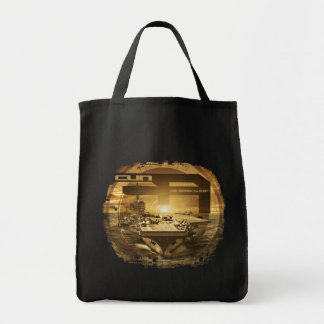 Aircraft carrier George H.W. Bush Tote Bag