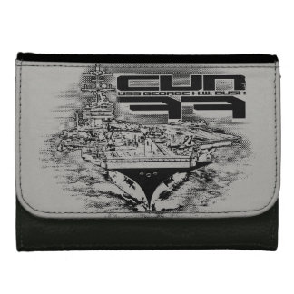 Aircraft carrier George H.W. Bush Wallets For Women