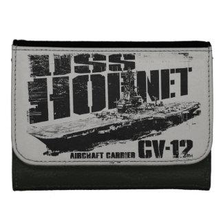 Aircraft carrier Hornet Photo Wallet