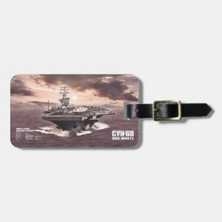 Aircraft carrier Nimitz Aif luggagetag Bag Tag