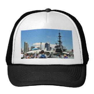 Aircraft Carrier Ship Trucker Hat