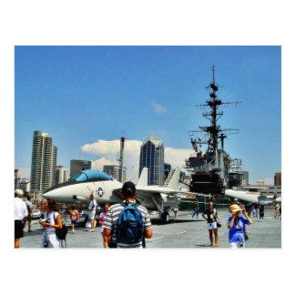 Aircraft Carrier Ship Postcard