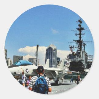 Aircraft Carrier Ship Sticker