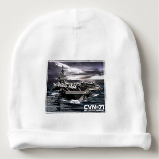 Aircraft carrier Theodore Roosevelt Baby Beanie