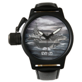 Aircraft carrier Theodore Roosevelt Crown Protect Wrist Watches