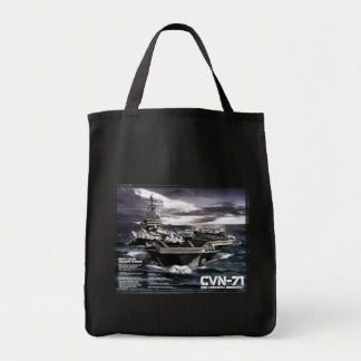 Aircraft carrier Theodore Roosevelt Tote Bag