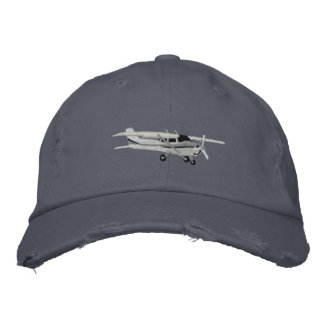 Aircraft Classic Cessna Custom Embroidered Baseball Cap