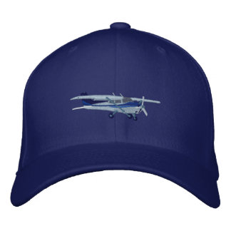 Aircraft Classic Cessna Custom Embroidered Embroidered Cap