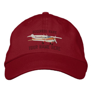Aircraft Classic Cessna Custom Personalize This Embroidered Hat
