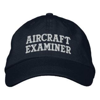 Aircraft Examiner Embroidered Baseball Caps