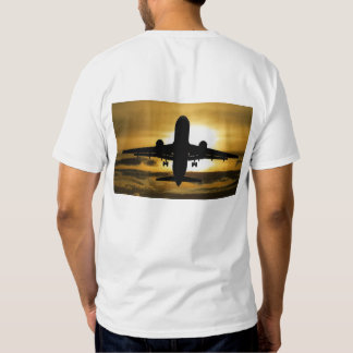 aircraft, holiday, sun, tourism, summer, mood, sky t shirt