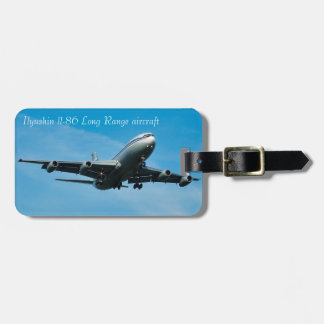 Aircraft image for Luggage Tag