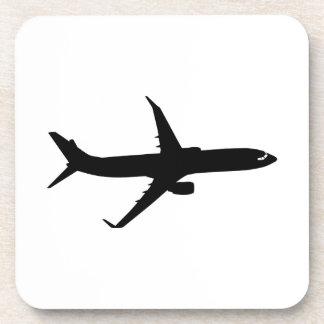 Aircraft Jetliner Shadow Flight Customize Color Coasters