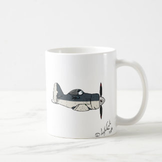 Aircraft Love Caricature Mug