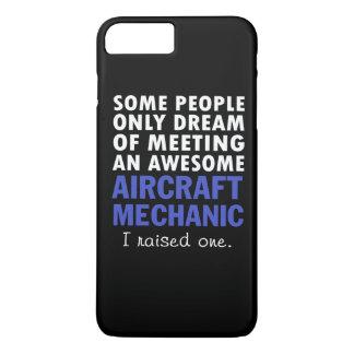 AIRCRAFT MECHANIC'S DAD iPhone 7 PLUS CASE