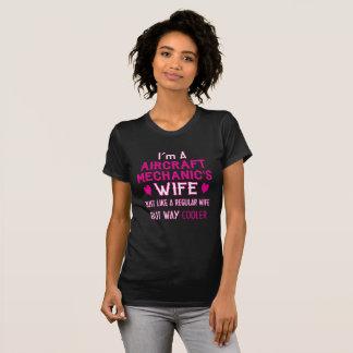 Aircraft Mechanic's Wife T-Shirt