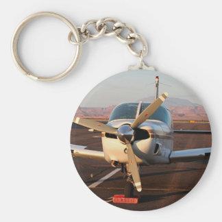Aircraft, Page, Arizona, USA Basic Round Button Key Ring