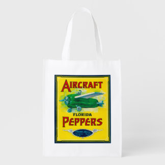 Aircraft Pepper Label