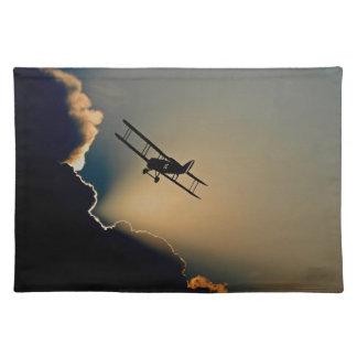 aircraft placemat