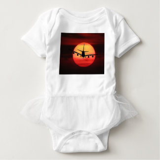 Aircraft Sun Baby Bodysuit