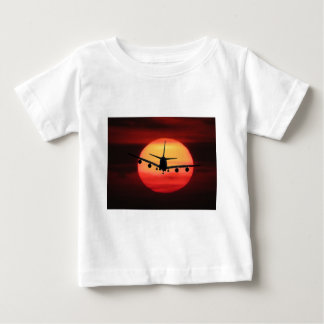 Aircraft Sun Baby T-Shirt