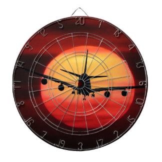 Aircraft Sun Dartboard