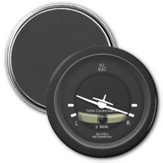 Aircraft Turn Coordinator Instrument Magnet