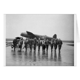 Aircrew 106 Lancaster Bomber RAF Card