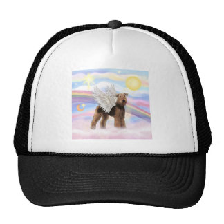 Airedale Angel Cap