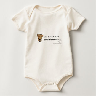 airedale baby bodysuit