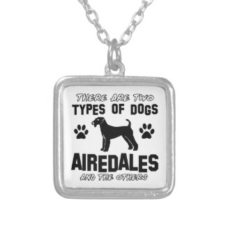 airedale dog designs jewelry