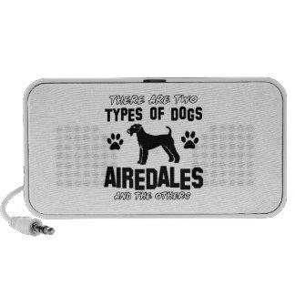airedale dog designs mini speakers