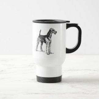 Airedale Dog Travel Mug