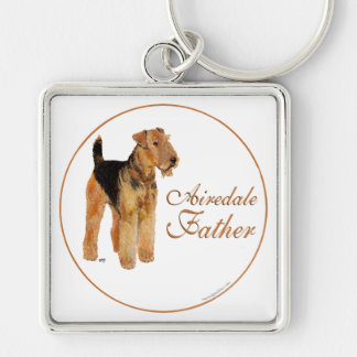 Airedale Father s Day Key Chains