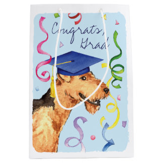 Airedale Graduate Medium Gift Bag