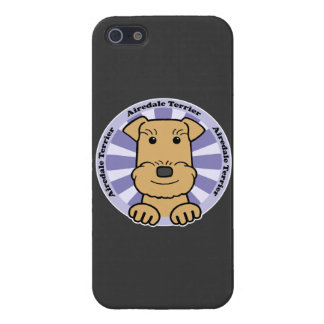 Airedale Graphic iPhone 5/5S Cases