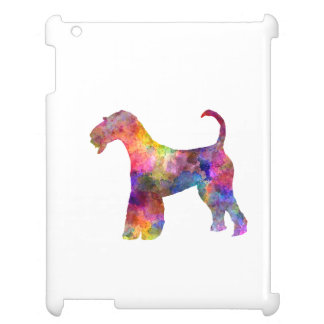 Airedale Terrier 01 in watercolor 2 iPad Cover
